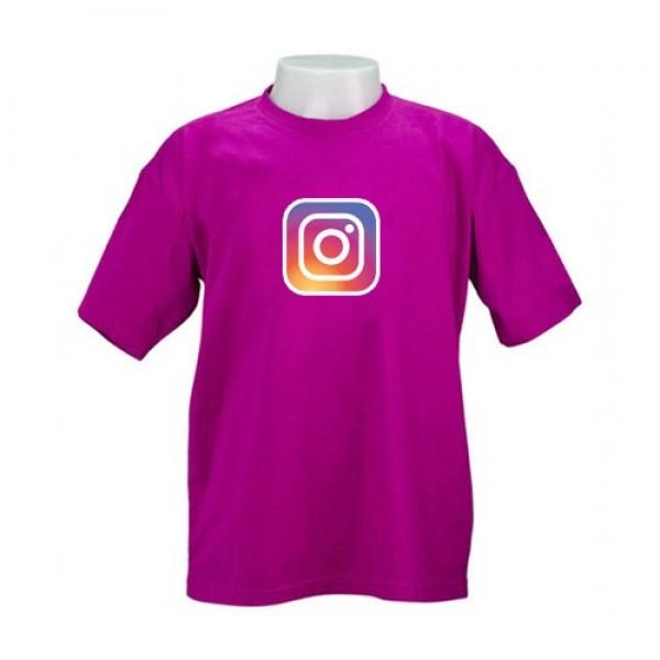 Camiseta Colorida Gola Careca Personalizada para Brindes CGC01